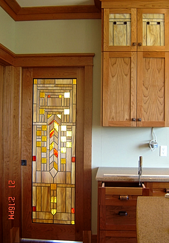 Cherry Kitchen Door