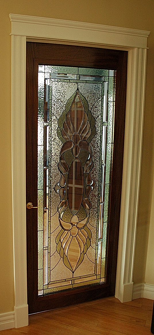 interior glass door