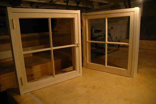 how to build wood windows